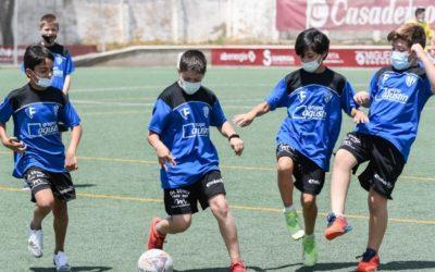 Gran acogida en el campus de verano de la SD Huesca